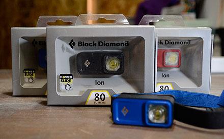 ブラックダイヤモンド ヘッドランプ アイオン
